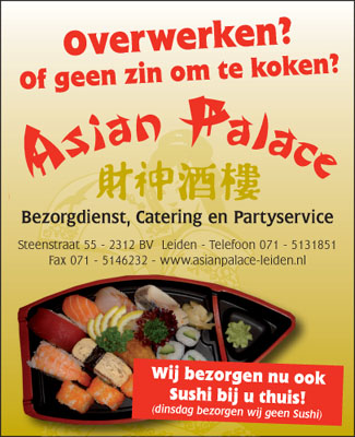 Asian Palace Leiden - Bezorgdienst Catering Partyservice